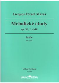Photo: Melodic Etudes for Violin