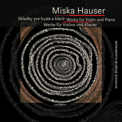 Photo: CD Miska Hauser - Works for Violin and Piano