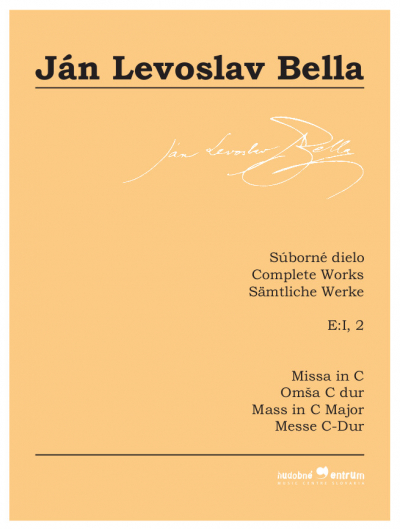 Complete Works, E:I, 2, Missa in C