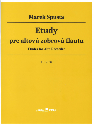 Etudes for Alto Recorder