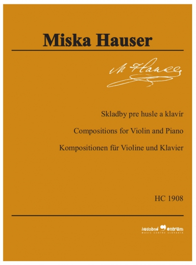 Compositions for Violin and Piano